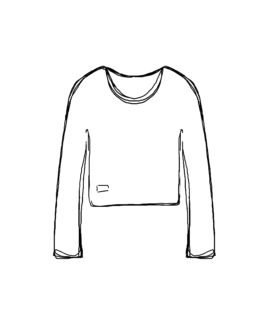 « Produit » Sweat Court, Design par Camille Lecomte