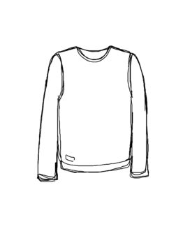 « Produit » Sweat Simple, Design par Camille Lecomte